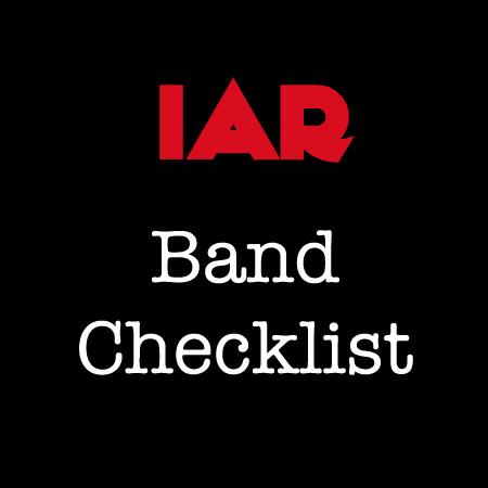 Band Checklist
