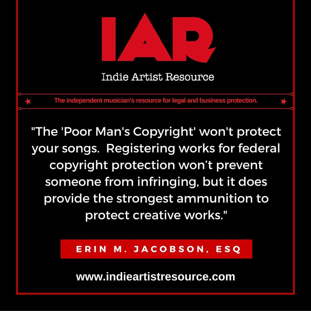 IAR - poor mans copyright