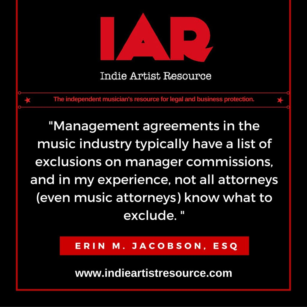 indie artist resource, indie artist, management agreement, manager, manager contract, template, music attorney